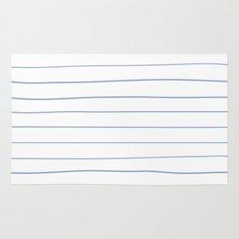 Freehand Stripes White Rug