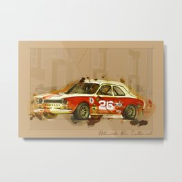 car artwork Metal Print