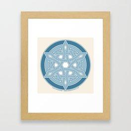 Star of David 2 Framed Art Print