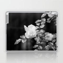 Urban White Rose Laptop & iPad Skin