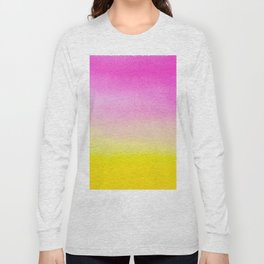 Abstract painting in modern fresh colors Long Sleeve T-shirt