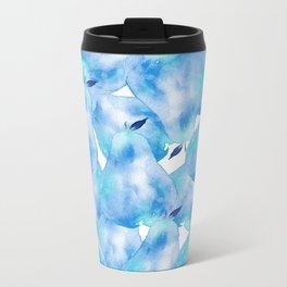 Blue D'anjou Metal Travel Mug