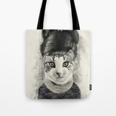 audrey cat Tote Bag