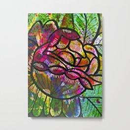 Cabbage Rose 1 Metal Print