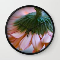 blush Wall Clocks featuring Blush by The Dreamery