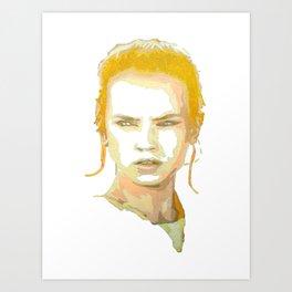 Rey (The Force Awakens) Art Print