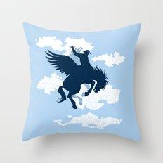 Sky Rodeo Throw Pillow