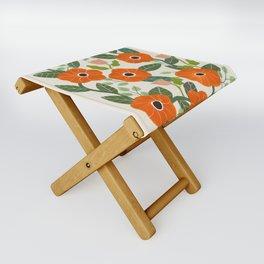 Poppies Folding Stool