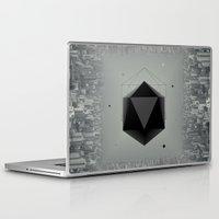 coffe Laptop & iPad Skins featuring City Intruder by Zavu
