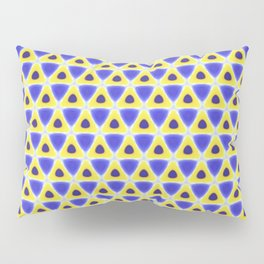 A sea of Triangles Pillow Sham