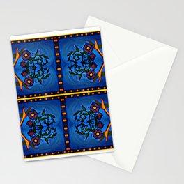 Los Palomas Symmetrical Art4 Stationery Cards
