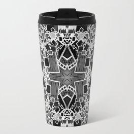 Tate - Created by a Genius (Square/Sym/BW) Travel Mug