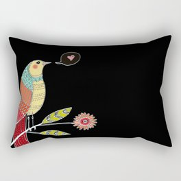 l'amour est dans l'air Rectangular Pillow
