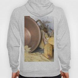 cob and pot with flour Hoody