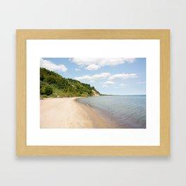 AFE Bluffer's Beach Framed Art Print