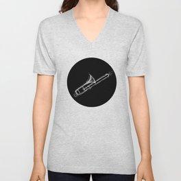 Trombone Unisex V-Neck