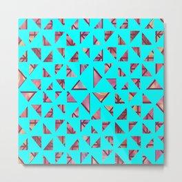Geometric Shapes: Triangles 04 Metal Print