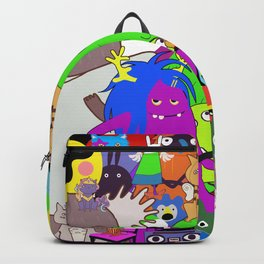 Cartoon characters Backpack