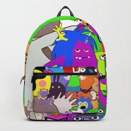 Cartoon characters Backpack