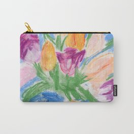 Tulips In A Teapot Carry-All Pouch