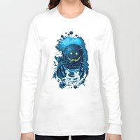 diver Long Sleeve T-shirts featuring SMILING DIVER by ADAMLAWLESS