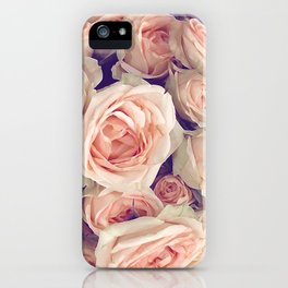 Pink Roses In A Bubble iPhone Case