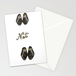 Oxfords not Brogues  Stationery Cards