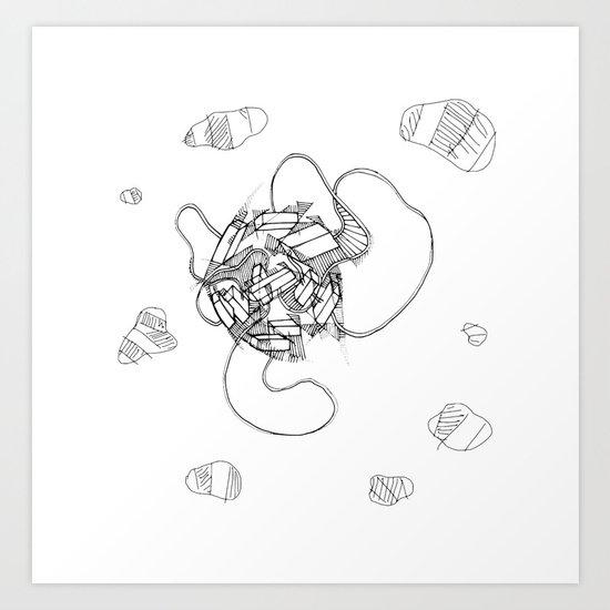 By Design 2 Art Print