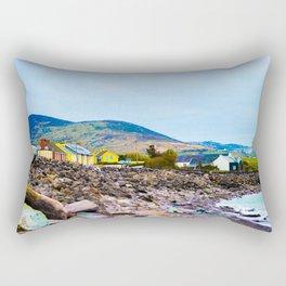 Costal Irish Village Rectangular Pillow