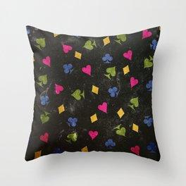 Dark Wonderland Throw Pillow