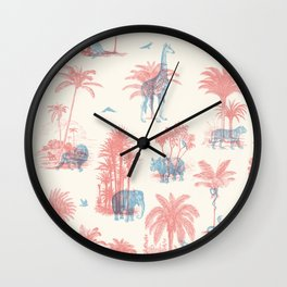 Where they Belong - Pastel Colors Wall Clock