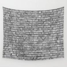 Vintage Brick Wall Wall Tapestry