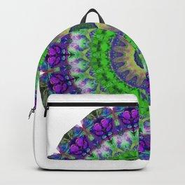 Green Light Mandala Art by Sharon Cummings Backpack