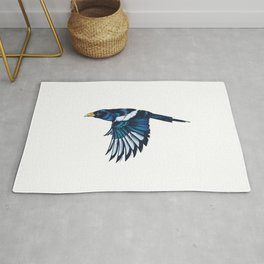 Yellow-billed Magpie Rug
