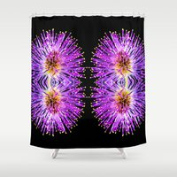 transparent Shower Curtains featuring Transparent Dreams  by Louisa Catharine Photography And Art