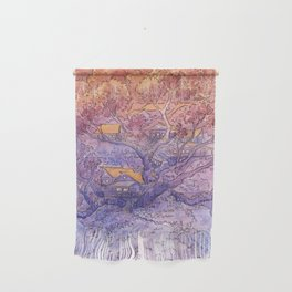 Enchanted Treehouse Wall Hanging