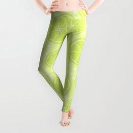 Summer Lime Pattern Leggings