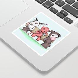 Evil Day Off Sticker