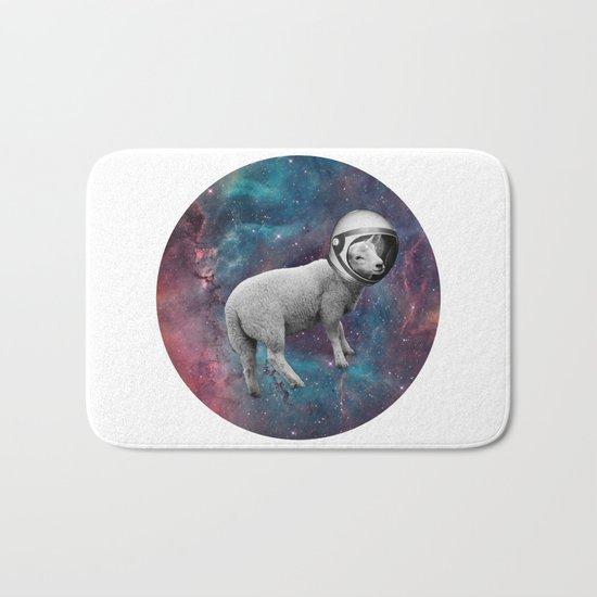 The Space Sheep 2.0 Bath Mat