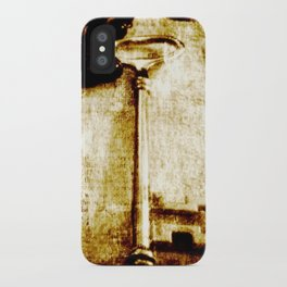 You have the lock and I have the key. iPhone Case
