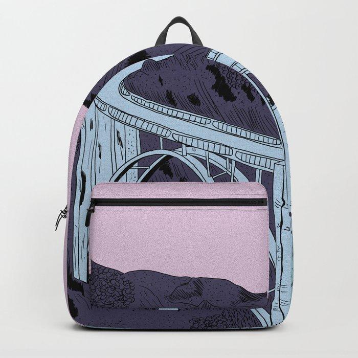 Bixby Creek Bridge Backpack