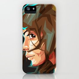 Lara Croft iPhone Case