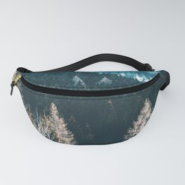 Fir Forest Winter Fanny Pack