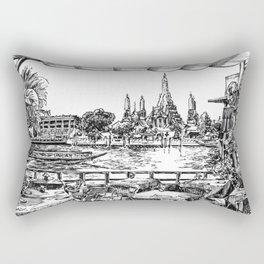 Wat Arun Rectangular Pillow