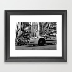 New York #01 Framed Art Print