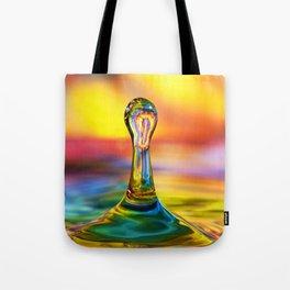 Tie Dye Water Drop Tote Bag