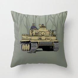 Dogs of War: Tiger 1 Throw Pillow