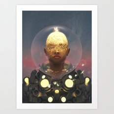 Companion Devices Art Print