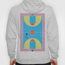 Basketball Court Pastel Colors  Hoody