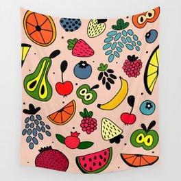 Fruity pattern Wall Tapestry